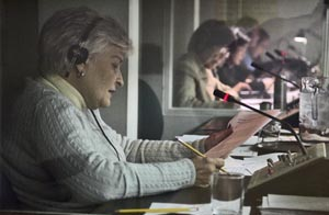 Interpreters at the United Nations